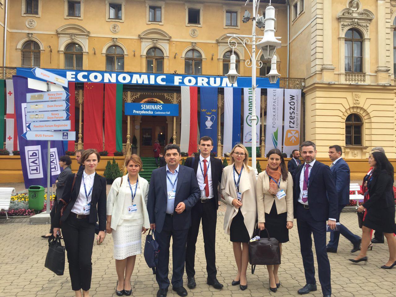 ІСЕД на Економічному форумі в польській Криниці-Здруй (6-8 вересня)