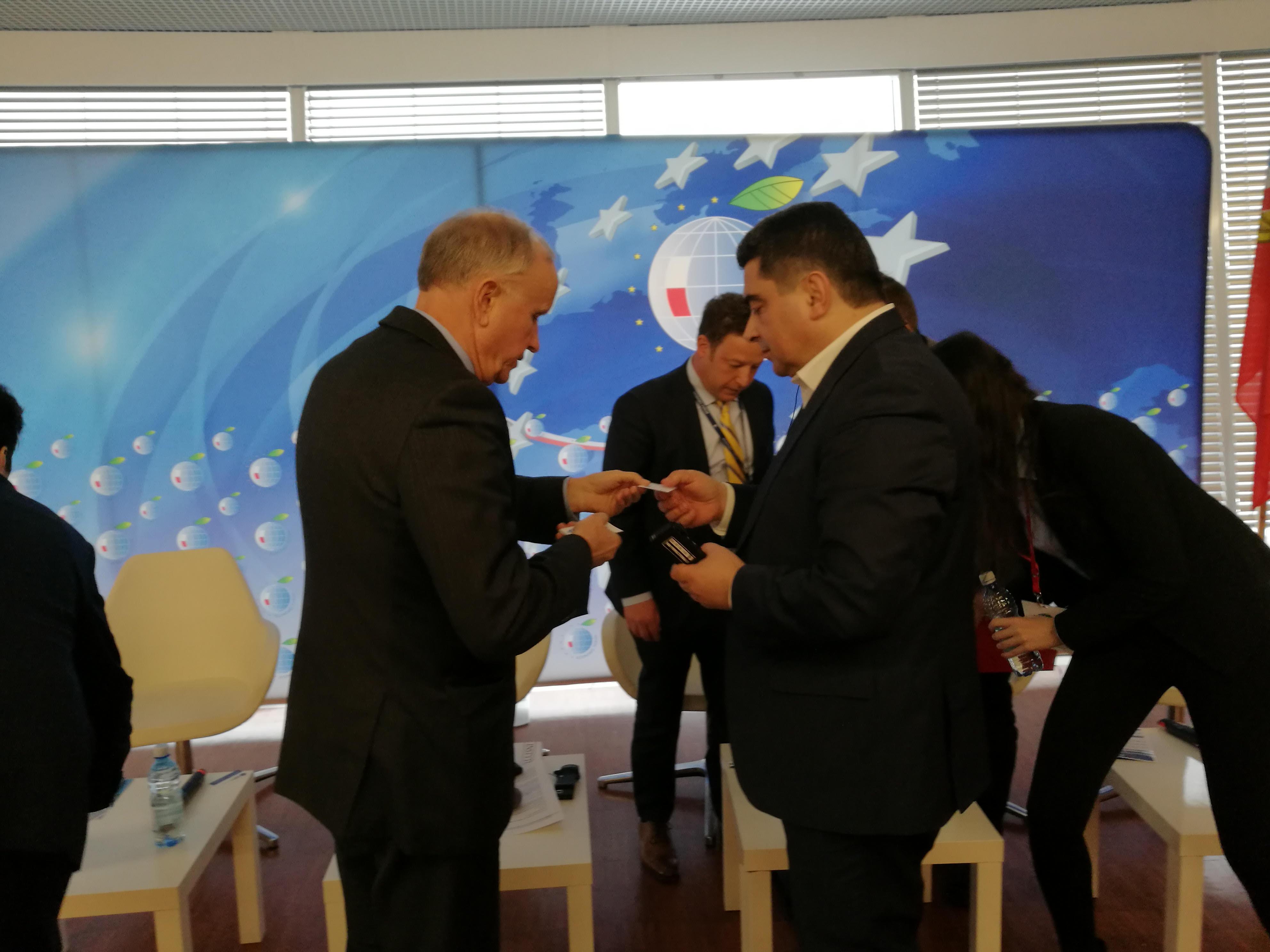 Про участь голови правління ІСЕД А. Максюти